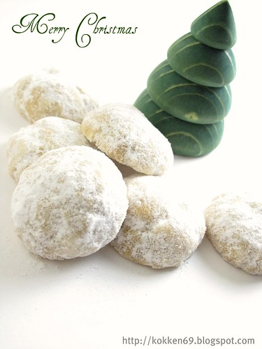Pecan Snowballs aka Mexican Wedding Cookies — @Kokken - A food blog ...