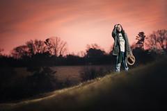 ...an idea... (Jeremy Snell) Tags: pink sunset hat animal farm south alabama 85mm surreal southern strobe pinckard strobist