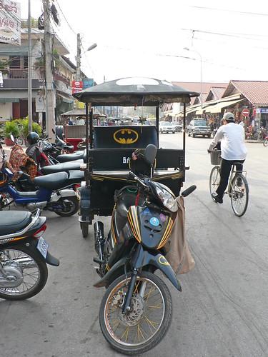 Batman Tuk Tuk, Siem Reap