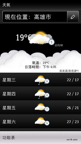 高雄市天氣 - Screenshot0063