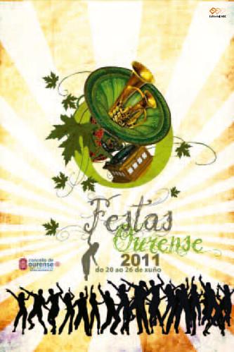 Ourense 2011 - Festas Maiores - cartel