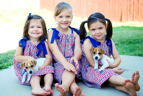 My sweet girls & pupps