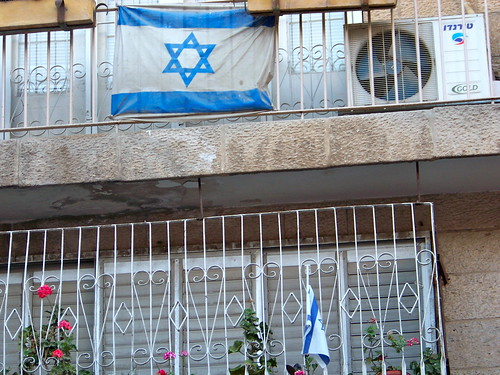 Patriotic balcony
