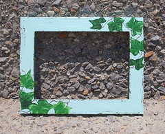 Green frame with ivy