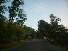 Entering Mountain Resort
