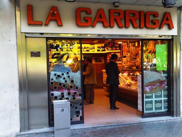 Fachada de La Garriga
