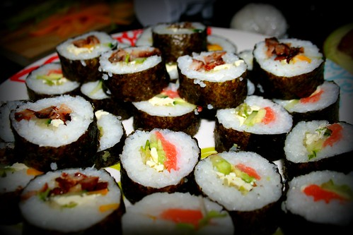 Homemade Sushi by you.