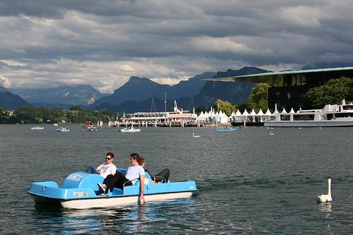 Evening in Lucerne