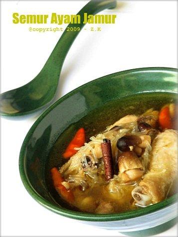 Semur Ayam Jamur By Rachmah Setyawati
