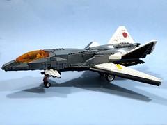 something original (psiaki) Tags: airplane fighter lego jet stealth spaceship aero moc