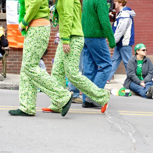 St Patrick's Day Parade, Jim Thorpe Pa