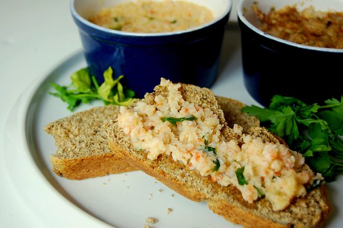 potted sandwich savouries