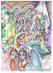 ISKCON desire tree - Krishna's birthday (ISKCON Desire Tree) Tags: demon krishna radha vrndavana balaram iskcon putana devaki radharani kamsa bakasura aghasura