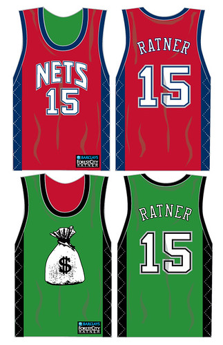 Nets reversible jersey -- moneygreed by you.