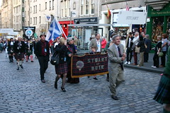 Clan Stuart of Bute at The Clan Parade - The Gathering 2009