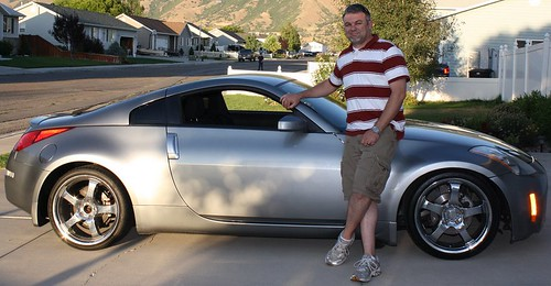 Me with my new 350Z Aug 19 v2