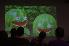 Dan Meth - Melons (Irish Wonderboy) Tags: newyork illustration leeds cartoons nti oldbroadcastinghouse danmeth