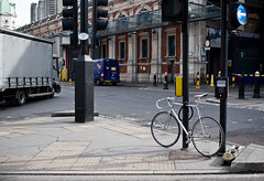 fixed (Jon Reksten) Tags: trip travel england london student traffic aho fixie locked cv40