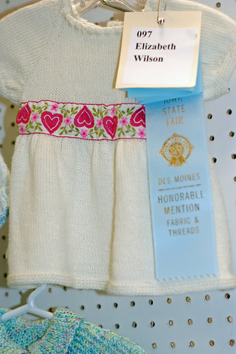 State Fair Knitting - my baby dress