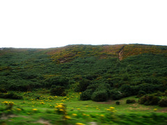 Driving home (St.Stello) Tags: ireland pinky wicklowmountains cowicklow