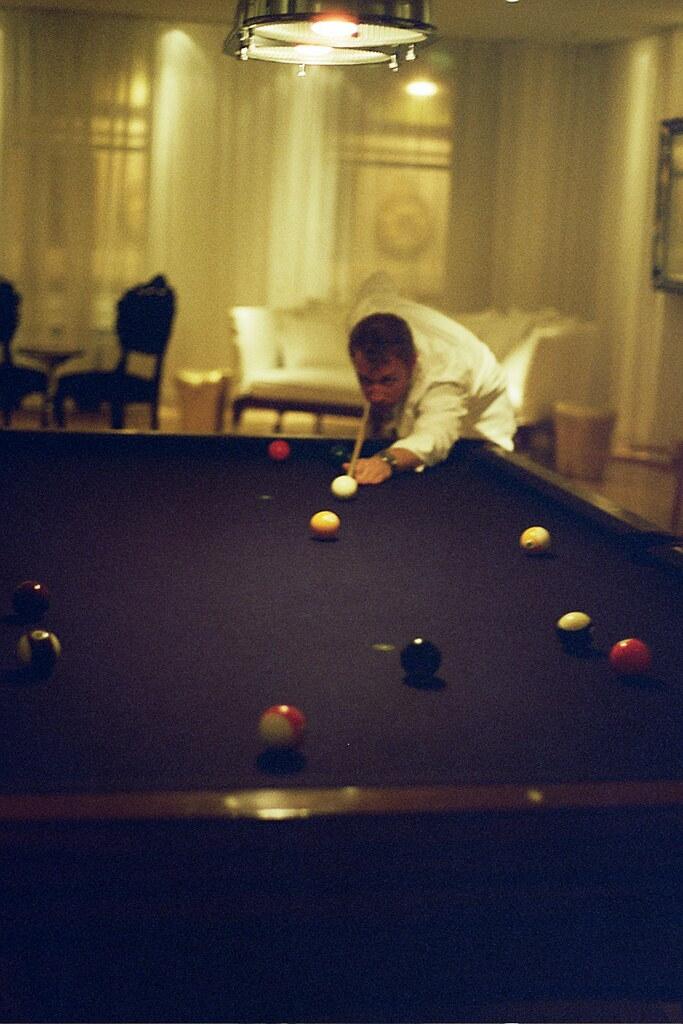 late night pool