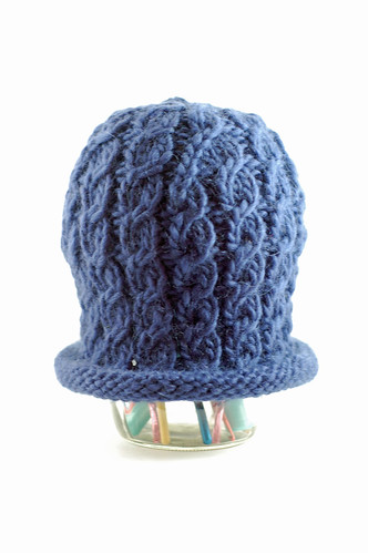 Faux Cable Hat 01