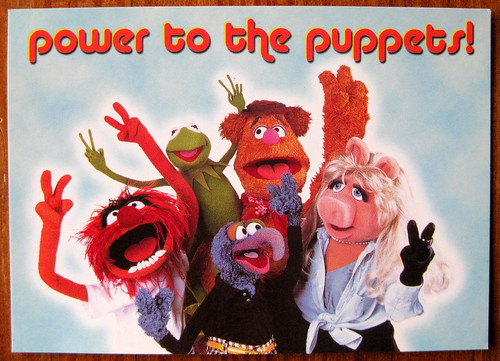 power to the puppets!