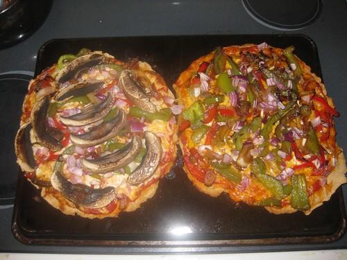 Homemade Pizzas 5
