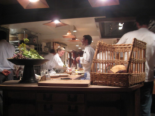 Chez Panisse - August 2009 - Open Kitchen