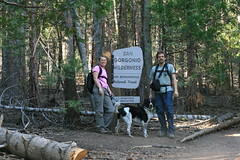 Linda, Loki & Randy san gorgonio sign (The Pines (historical), California, United States) Photo