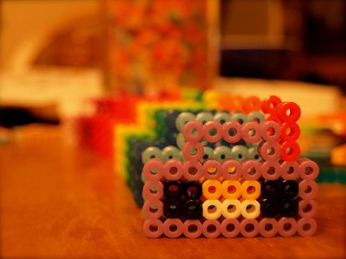 Perler boomboxes