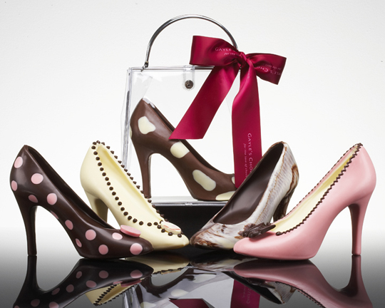chocolate-shoes