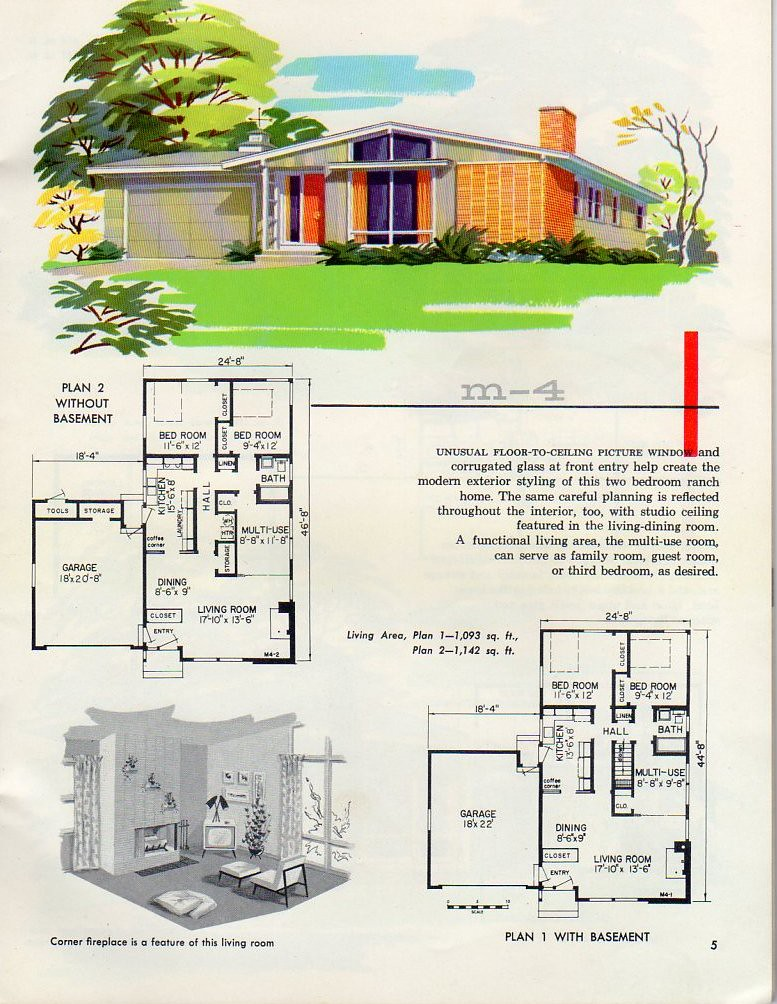 The world 39 s best photos of midcenturysplitlevel flickr for 1960 s home plans