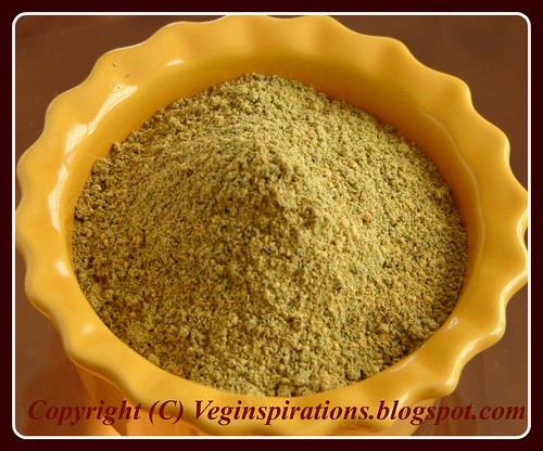 Spiced Curry Leaves Powder