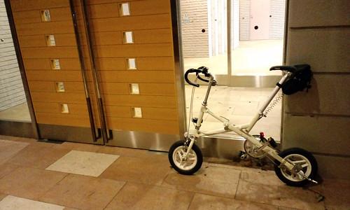 スポーツ・アウトドアの折りたたみ自転車