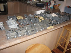 Aaron's Military Vehicle Collection, formerly known as Aaron's AFV Collection (Aaron Patrick Morse) Tags: tank lego military wip ww2 minifig m4 sherman panzer kingtiger moc nashorn sturmgeschtz stug shermanfirefly