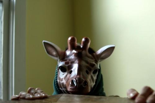 I am not a giraffe