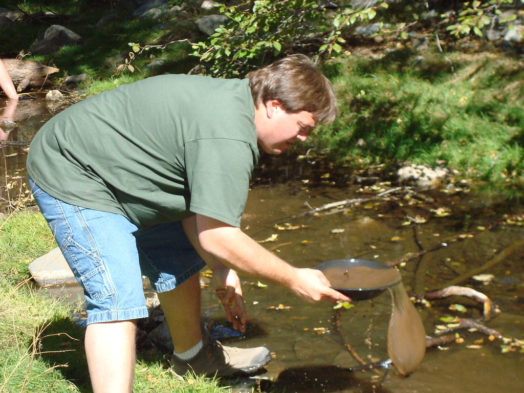 Panning for Gold in Arizona