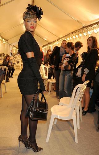 Rihanna at Dior