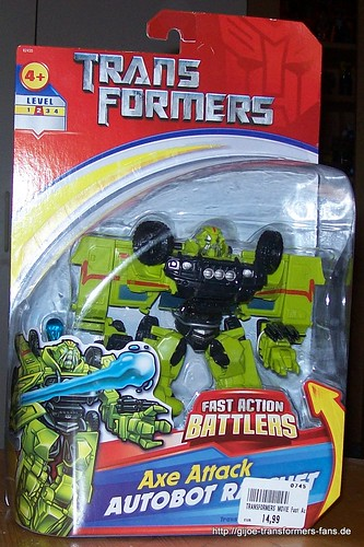Axe Attack Ratchet Movie-2007 Fast Action Battlers Transformers 001
