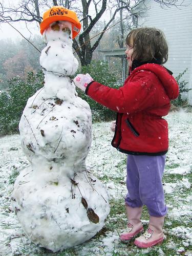 October snowman