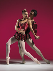 Promotional image for Scottish Ballet's 40th Anniversary Tour