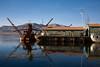 Le port du lac Titicaca (Puno, Pérou, juillet 2009)