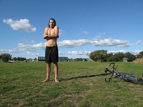cold Brad, bike