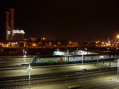 Piacenza (Locom@n) Tags: railways stazione piacenza notte ferrovia treni e464 ferrotel