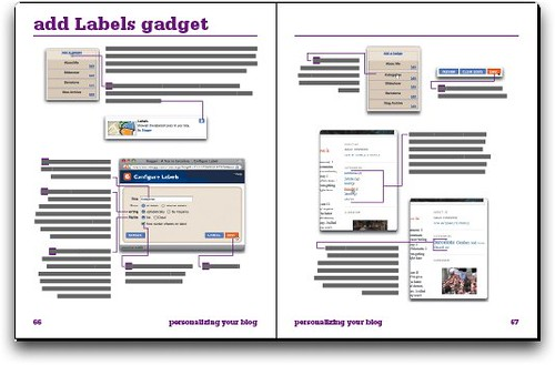 Sample spread of Publishing a Blog with Blogger: VQJ, Second Edition