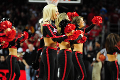 2009 11 04_8396.jpg (kylures) Tags: basketball cheerleaders dancers spirit knights louisville ncaa ladybirds ul cardinals bellarmine uofl freedomhall ncaabasketball collegecheerleaders