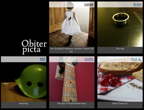 Obiter picta - Nov 5, 2009