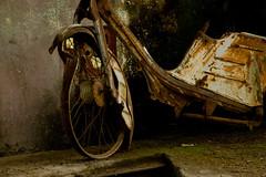 old bike (Manu MJ) Tags: old costa abandoned bike island san rica lucas creepy moto tropic past viejo isla antiguo motrocycle antiguedad