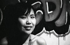 Graffiti Angel (ChristianPedersen) Tags: china kodak beijing canona1 6400 dlounge tmaxp3200 hc110b